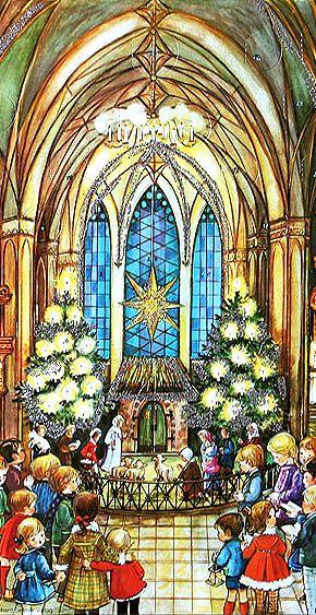 Children's nativity advent calendar ~ Germany