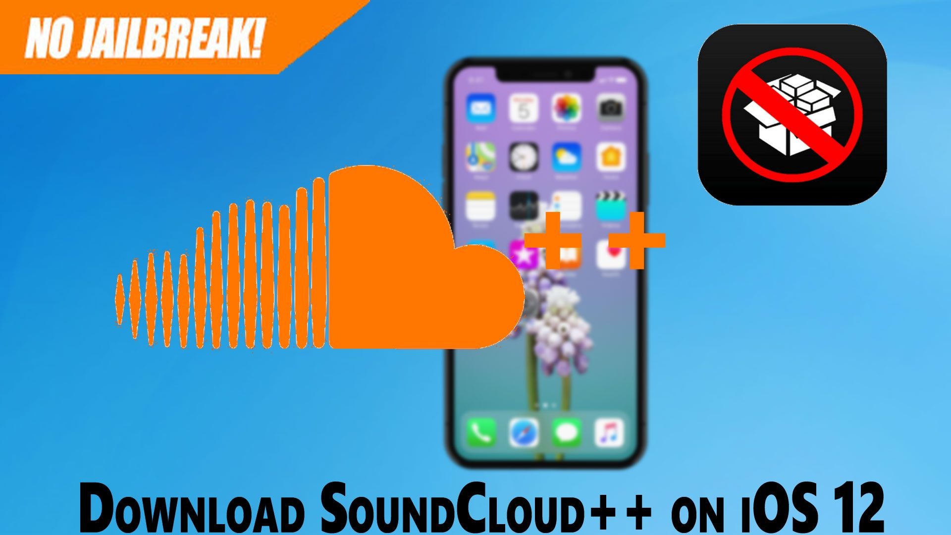 How to download & install soundcloud++ on iOS 12 No
