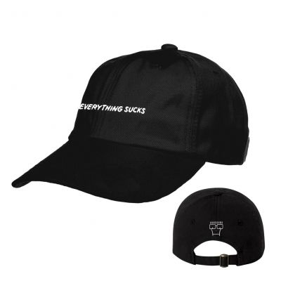 5b2b3cc2f57 Everything Sucks Dad Hat (Black) - The Official Descendents Online Store