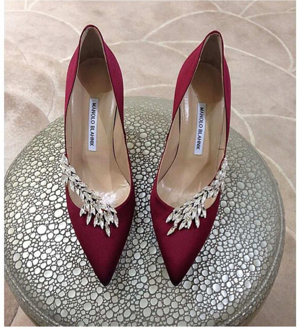 fc2d7bff16d5 Fashion Glamour Style Luxury   Photo Manolo Blahnik Shoes Wedding