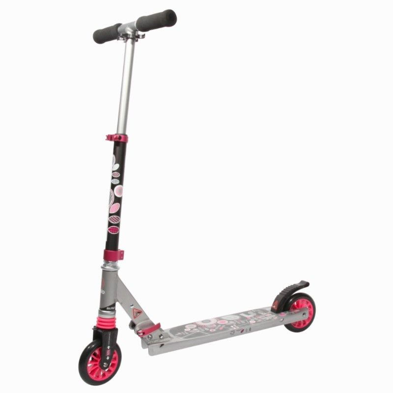 excitación pausa paño  Roller_trottinettes - Trottinette enfant Oxelo PLAY5 rose