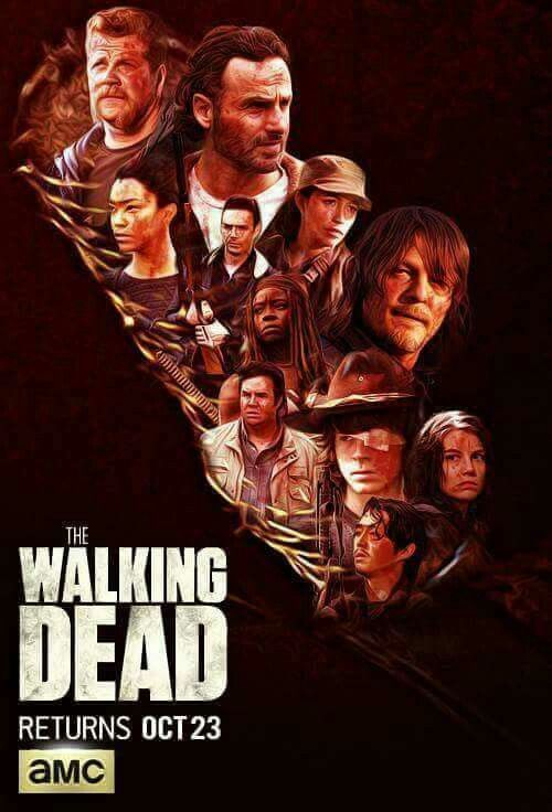 Walking Dead Cast Wallpaper Lockscreen Walking Dead
