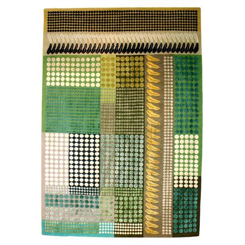 Margo Selby - Fibonacci Green Rug