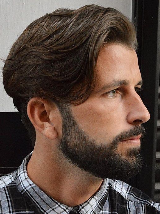 20 Side Sweep Hairstyles for Mens 2017 2018 | Hair | Pinterest ...