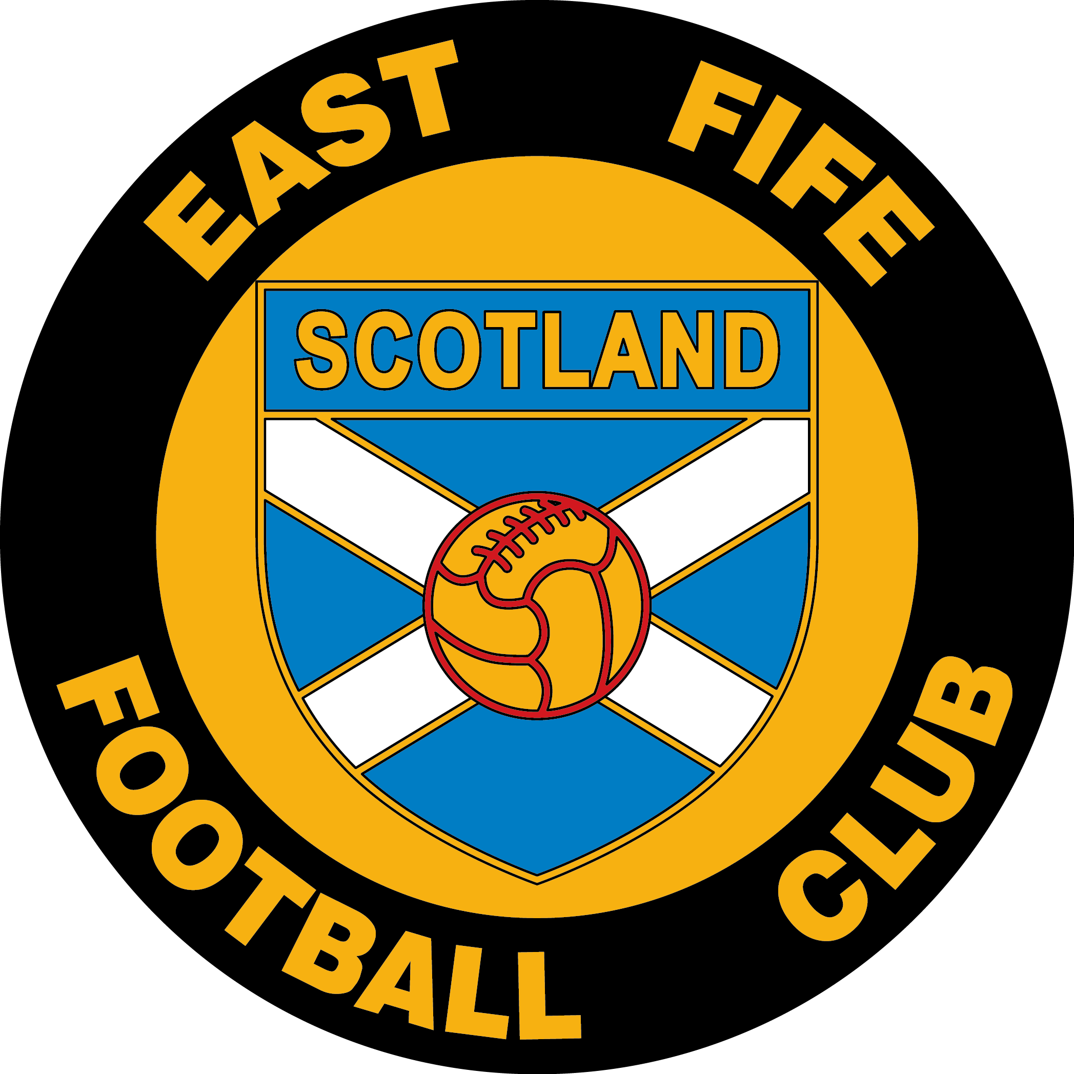 East Fife F C 70 S Logo Gb S East Fife Fife Football Logo