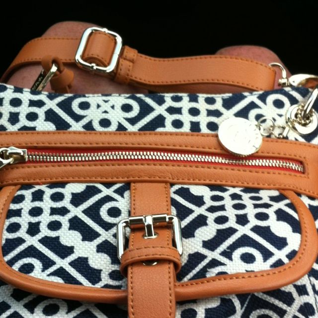#spartina449 love, love, love  Leather & canvas bag by SPARTINA of DAUFUSKIE ISLAND SC