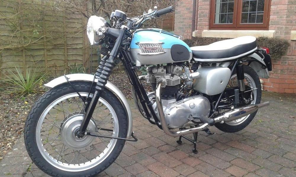 eBay: Triumph T120 pre-unit Bonneville 1961 | Triumph