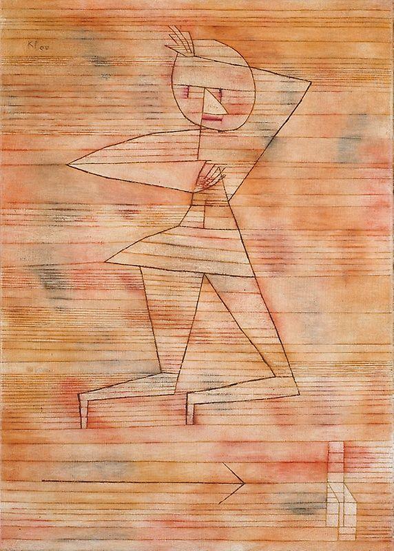 Paul Klee German, born Switzerland, 1879–1940, Fleeing Ghost