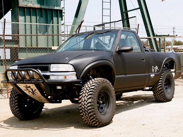 Mean Baja Stance Chevy S10 S10 Truck Chevy