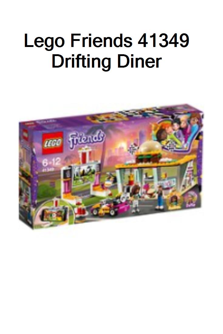 LEGO Friends Heartlake Drifting Diner Playset Retro Movie Screen Mini-Dolls Fun