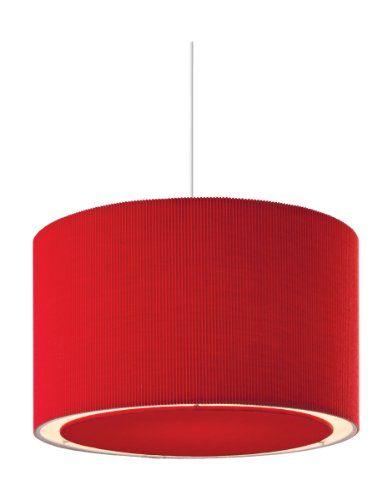 36cm Firstlight Emily - Pantalla para lámpara de techo (100 W ...