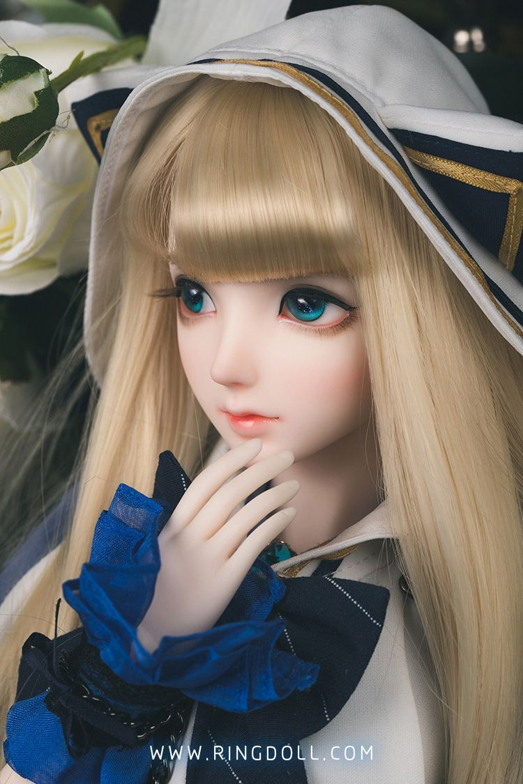 1//3  bjd doll Alice beautiful girl elegant free eyes+face make up