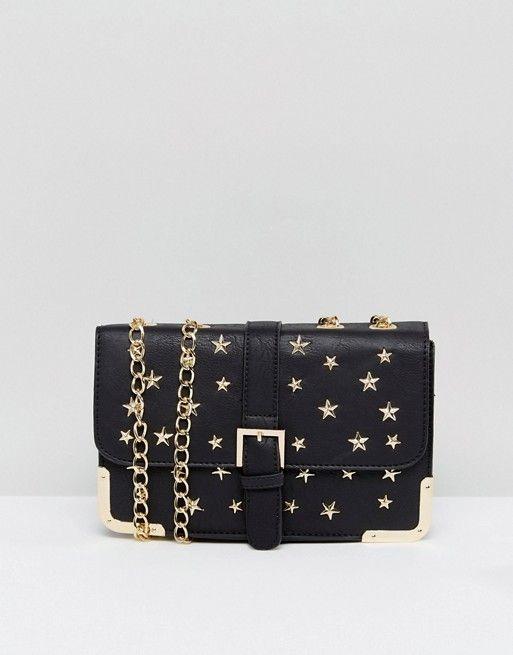 a73f0346a8ec Yoki Fashion | Yoki Fashion Studded Shoulder Bag With Chain Strap ⭐ #ad