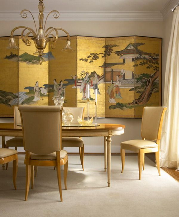 Beautiful Chinese Dining Room Wall Murals