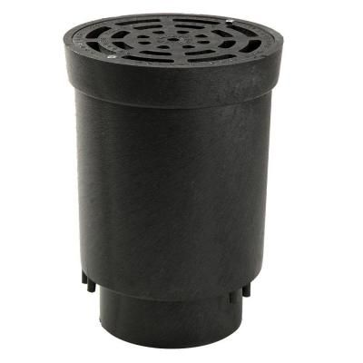NDS Flo Well 6 in. x 4 in. Surface Drain Inlet-FWSD69 - The Home Depot