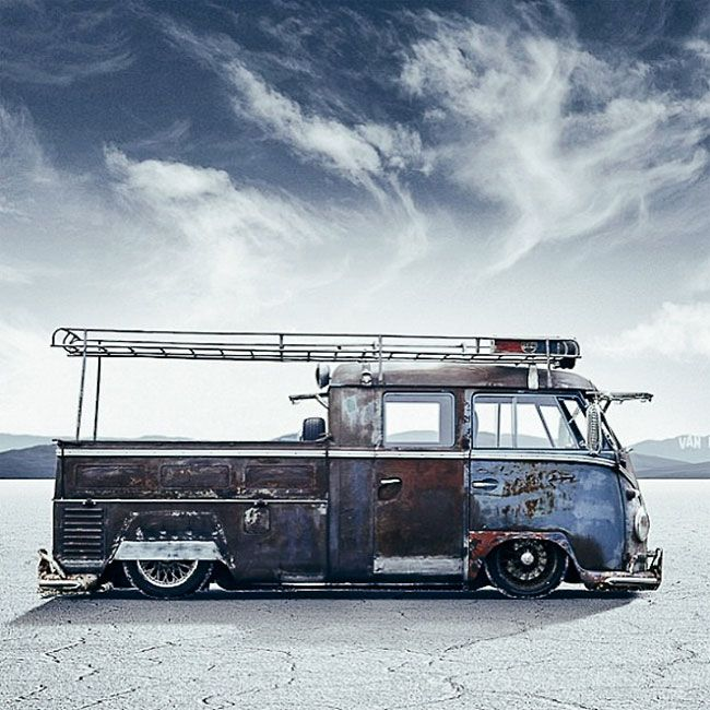 Here Are The 11 Sexiest Customized Vw Camper Vans Ever To -6803