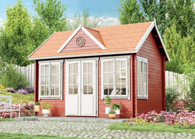 Gartenhaus Modell Clockhouse28 in 2020 Haus und garten