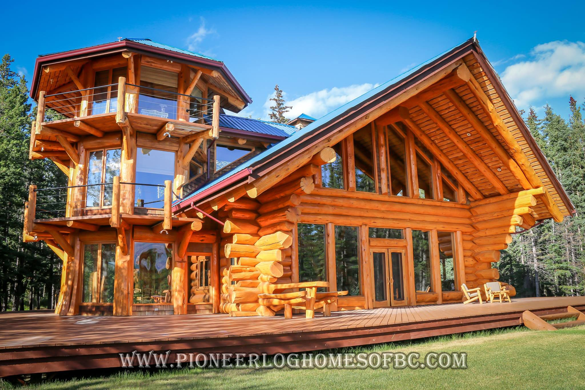 Custom Log Homes Picture Gallery Log Cabin Homes Pictures Bc Canada Log Cabin Exterior Log Homes Exterior Log Cabin Homes