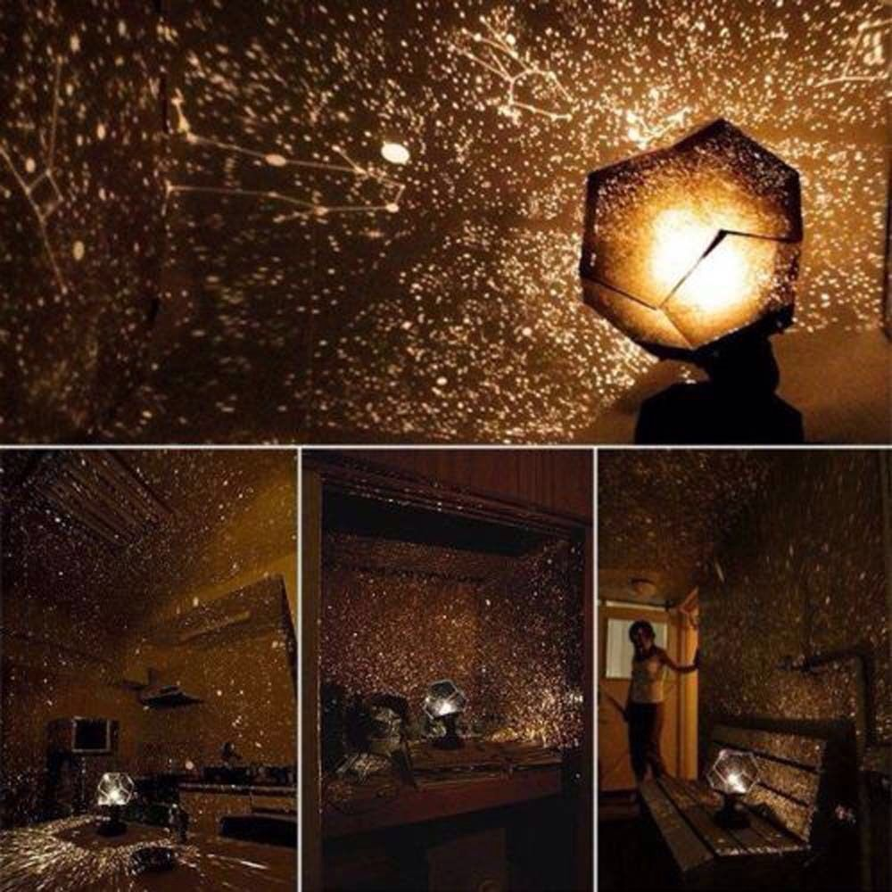 Security & Protection Starry Sky Projector Light Cosmos Four Seasons Constellation Stars Projection Lamp Romantic Night Lamp