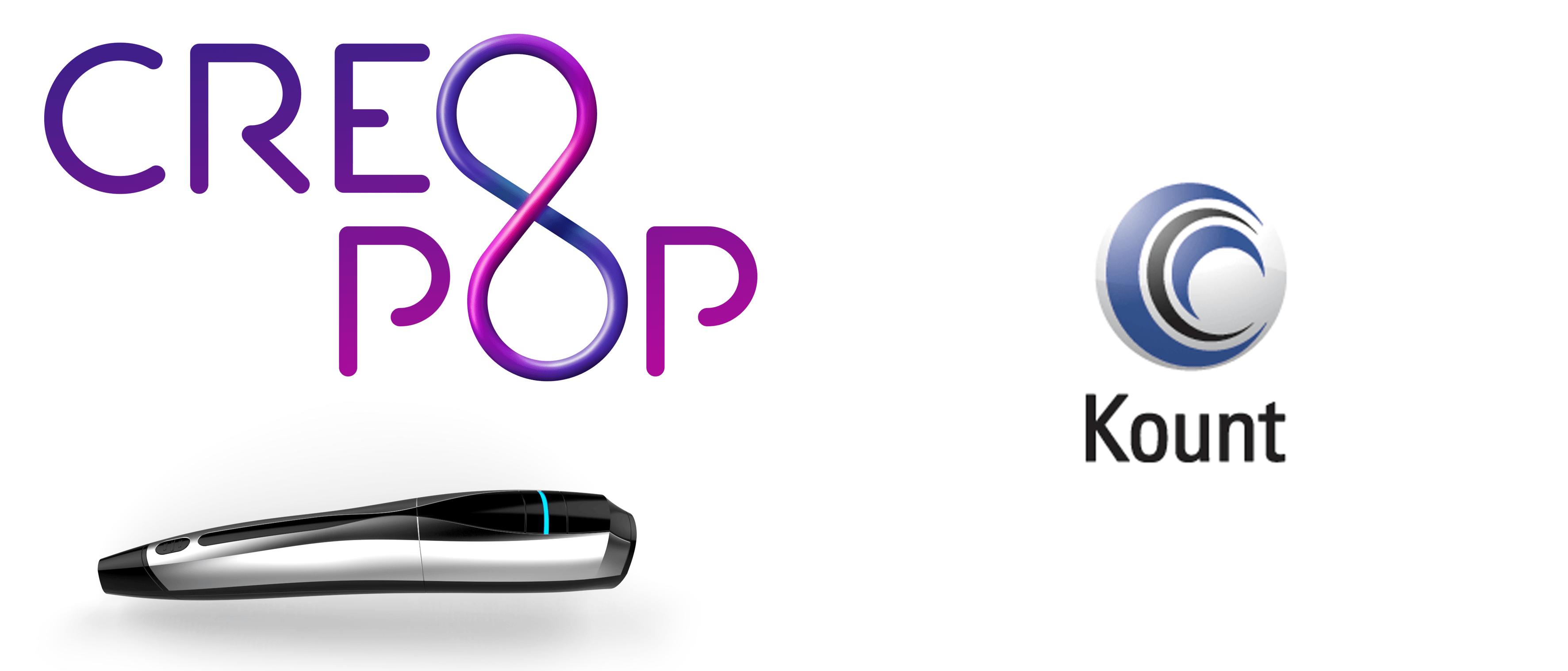 CreoPop 3D; Kount - http://computeramerica.com/2015/11/05/creopop-3d-kount/