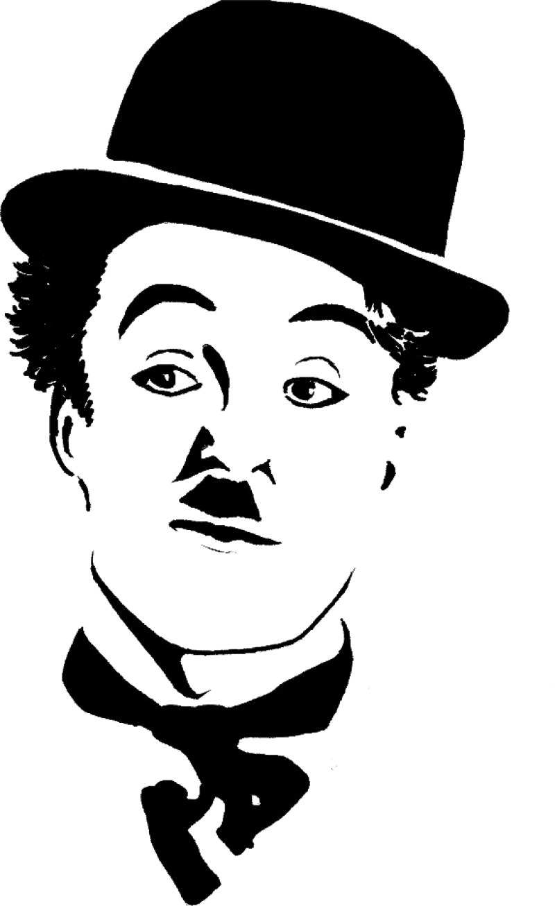 Charlie Chaplin Png Image Purepng Free Transparent Cc0 Png Image Library In 2020 Silhouette Art Stencil Art Art Drawings Sketches Creative