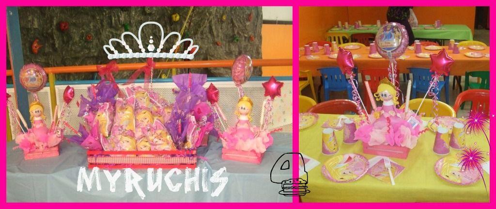fiesta princesas fiesta aurora centros de mesa infantiles centros de mesa princesas