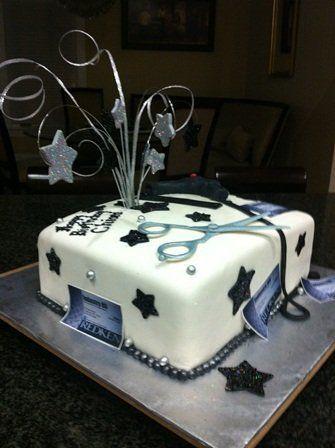 Hair Stylist Cake Cakesdecor