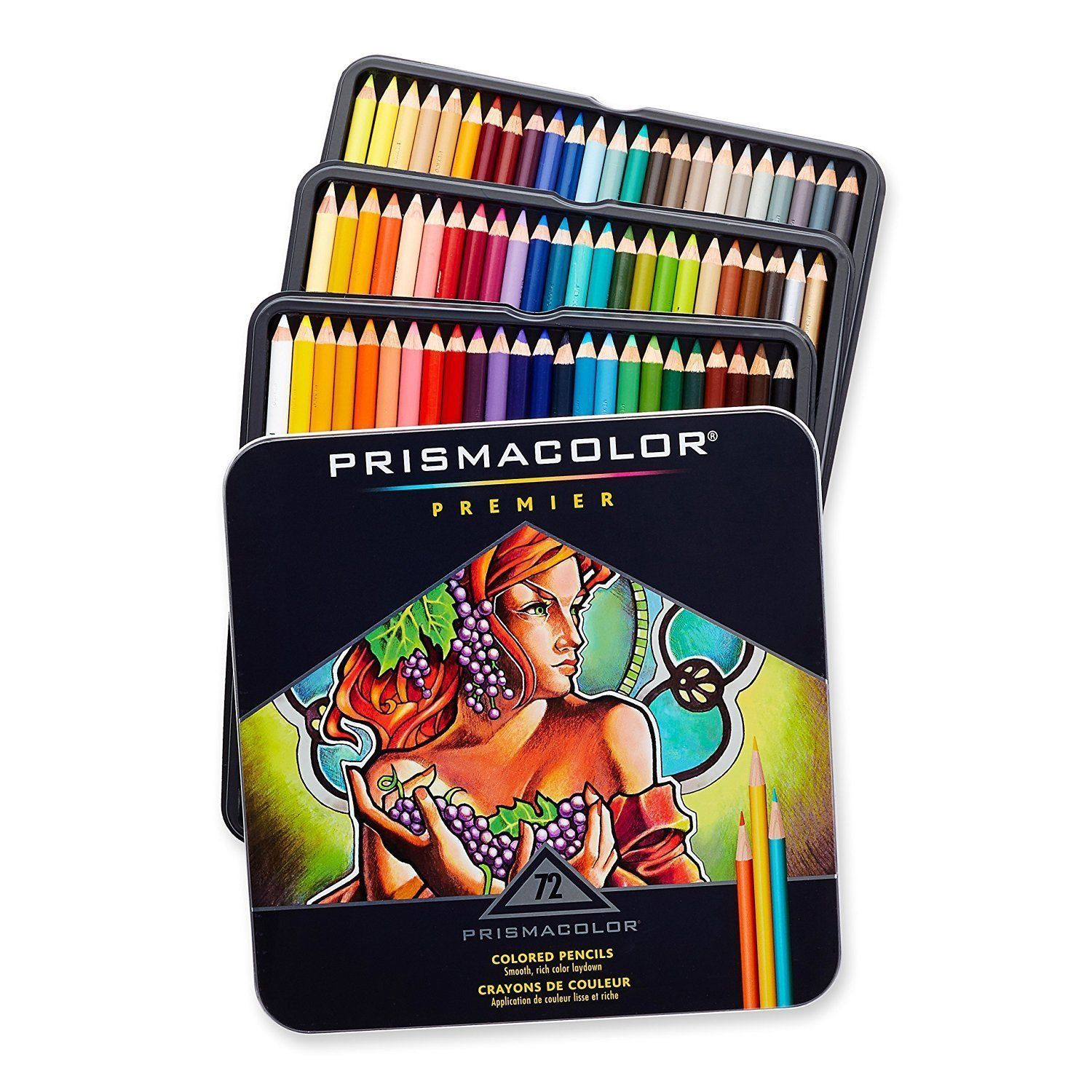 Prismacolor Premier Colored Pencils 72 Assorted Color Pencils