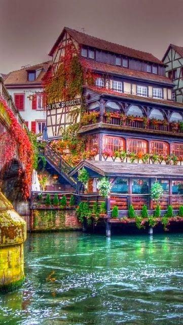 Alsace ,Strasbourg , France...where my Cline/Klein ancestors originated...though German part?
