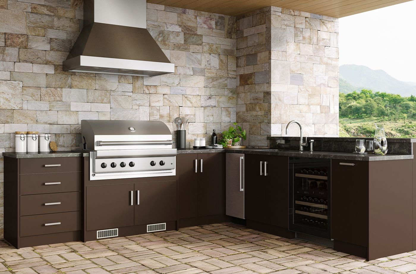 Costco Weatherstrong Outdoor Cabinetry In 2020 Cabinetry Outdoor Kitchen Kitchen Cabinets