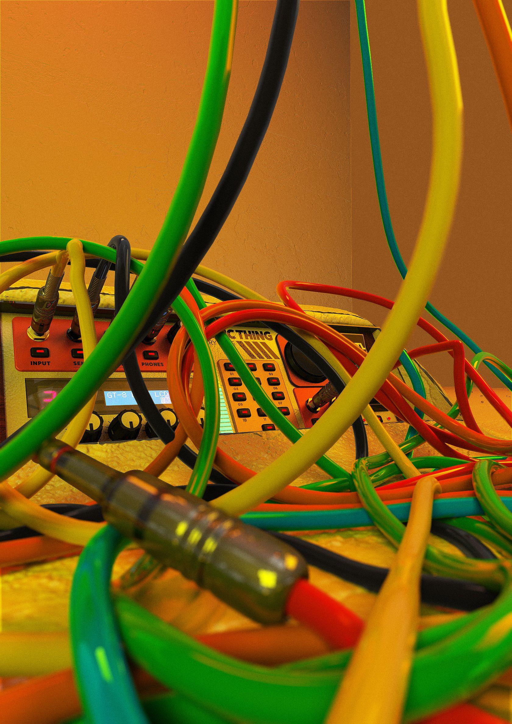 crazy wires experiments in spline dynamics [ 1680 x 2376 Pixel ]