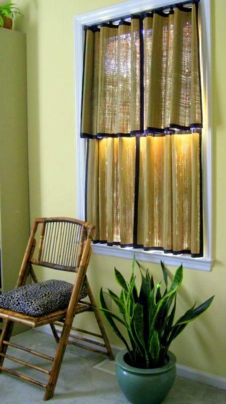sun room window curtain ideas no sew beach mat curtains im going to do this in my sunroom