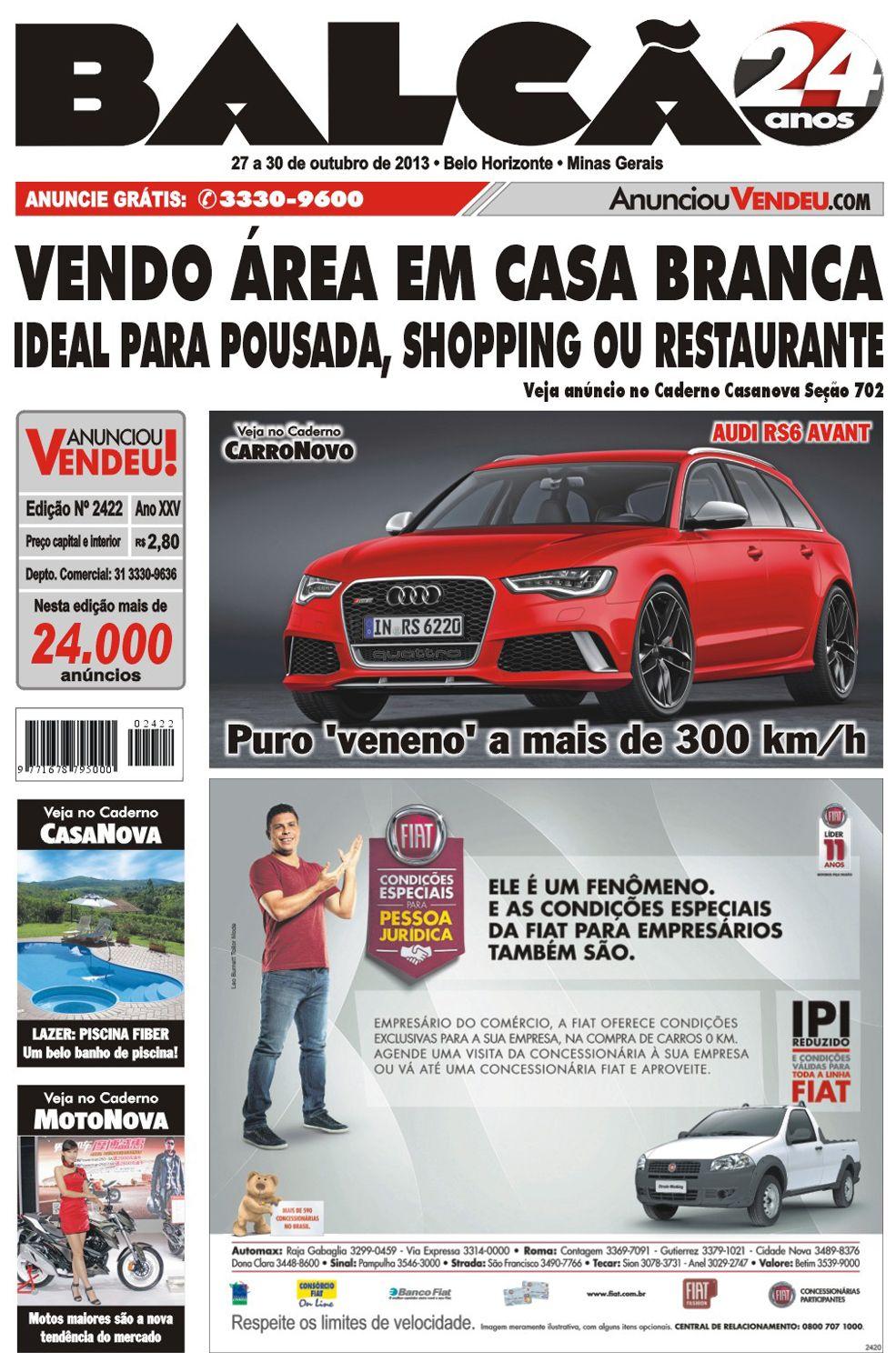 Na Edi 231 227 O 2422 Do Jornal Balc 227 O Voc 234 Vai Ler Sobre O Audi