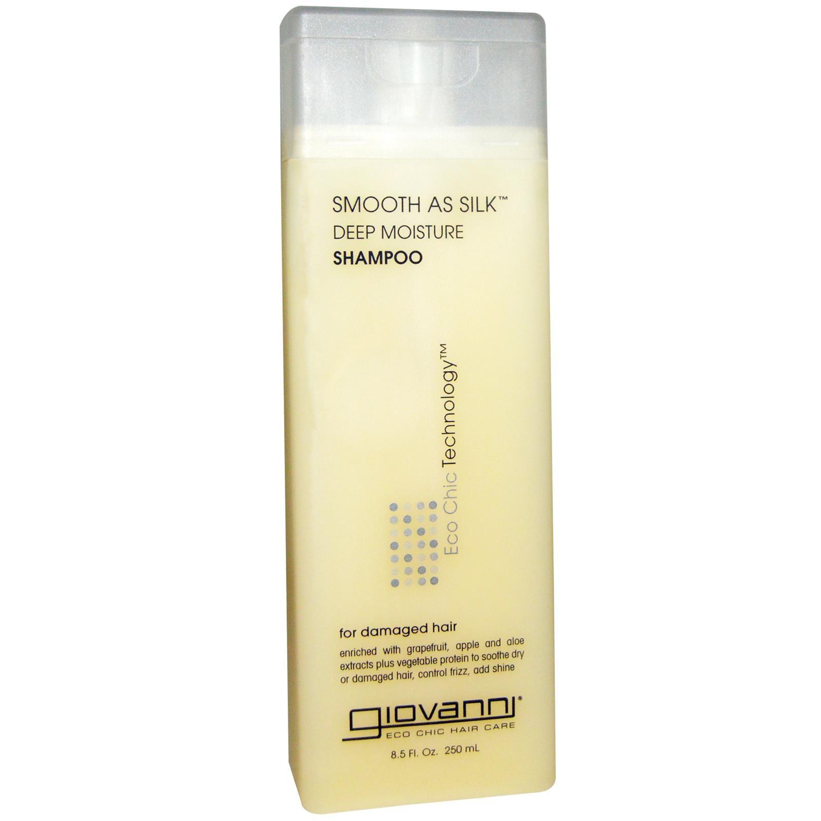 Giovanni, Smooth As Silk, Deep Moisture Shampoo, 8.5 fl oz (250 ml)