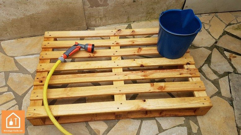Nettoyer une palette en bois palettes reclaimed pallet