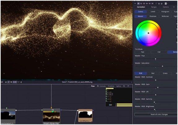 Blackmagic Design Fusion 9 Upgrades In Vr 3d Vfx Motion Graphics Blackmagic Design Motion Design Fusion