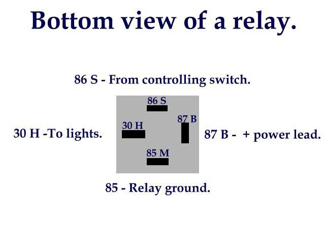 Relay Layout Radio Control Diy Automotive Repair Car Audio Systems