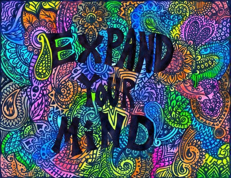 American Hippie Psychedelic Art Quotes Expand Your Mind