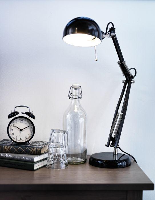 Forsa Lampe De Bureau Noir Ikea Work Lamp Desk Lamp Design Desk Lamp