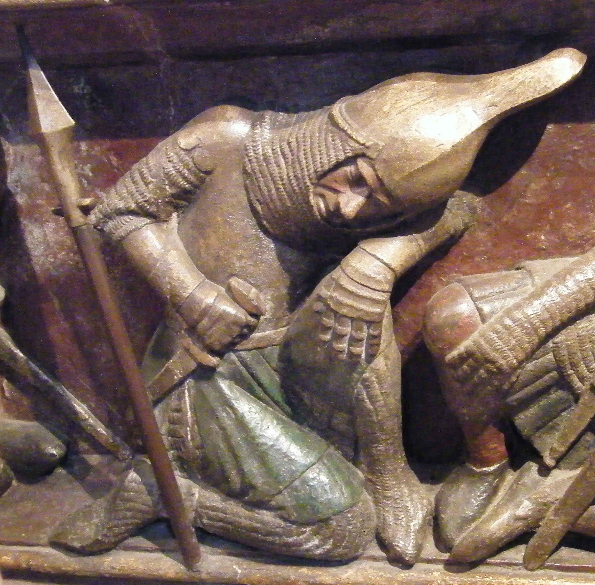 Sleeping Guards 1350 Germany Freiburg Im Breisgau