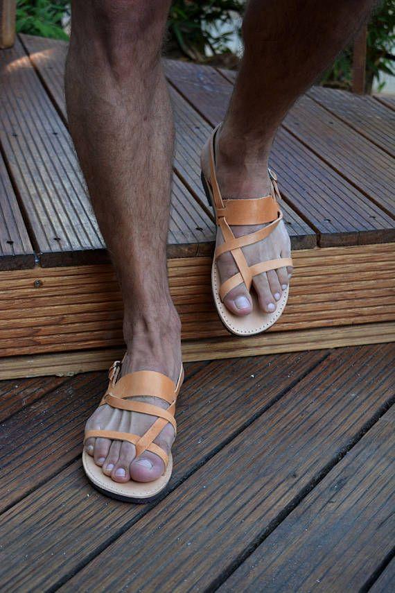 Men S Greek Sandals Men S Leather Sandals Men S Male