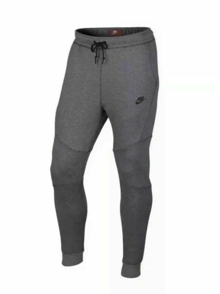 Nike sportswear tech fleece jogger pants carbon heather