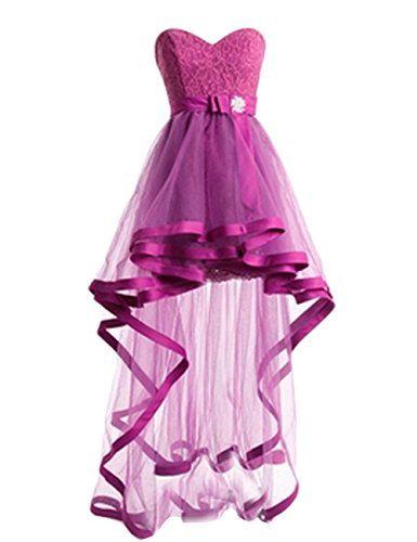 Dresstells® Short Lace Dress with Sash Dress Homecomi... https://www ...