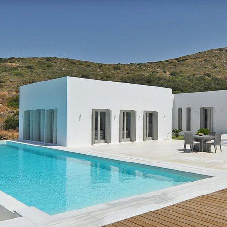 Modern Architecture Greece house on paros islandreact architects | paros, architects and