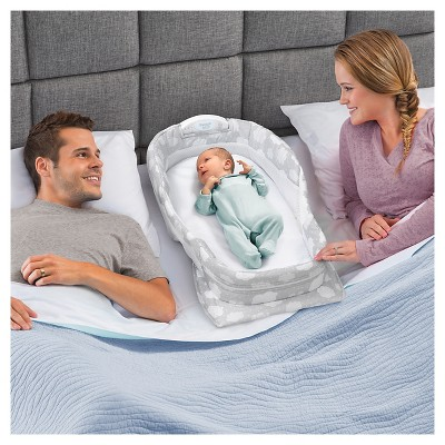Baby Delight Snuggle Nest Surround Infant Sleeper Silver