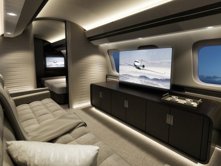 Private Luxury Jets With Custom Made Interiors Private Jet