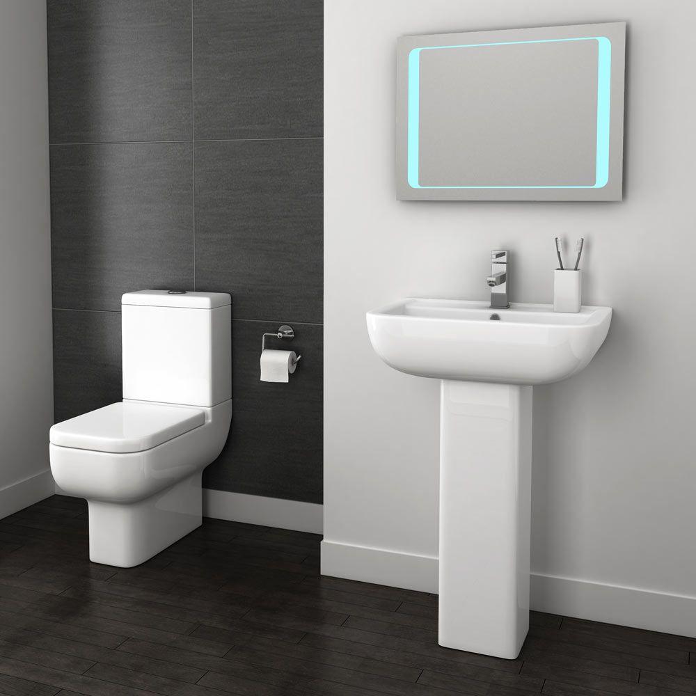Pro 600 Short Projection Modern Bathroom Suite | Plumbing, Victorian ...