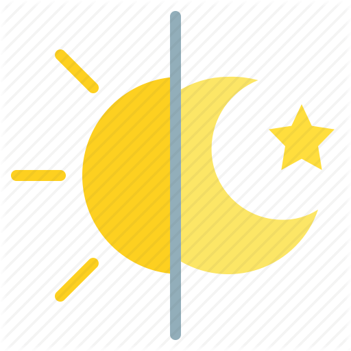 Day Moon Night Sun Icon Download On Iconfinder Icon Weather Icons Day
