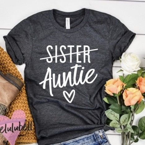 Aunt shirt, pregnancy announcement shirt, promoted to aunt, Pregnancy reveal shirt, pregnancy announcement to aunt, future auntie shirt