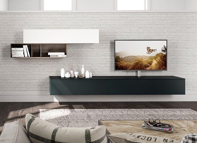 Tv Kast Zwart Wit.Spectral Next Hangend Tv Meubel Tv Meubels Meubels En Meubel Ideeen
